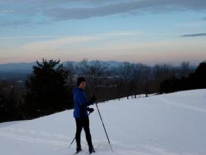 Skiing at Springbrook Farm