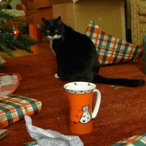 Lucky and the lucky cat mug
