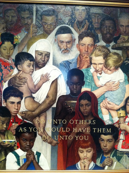 Norman Rockwell: incredible