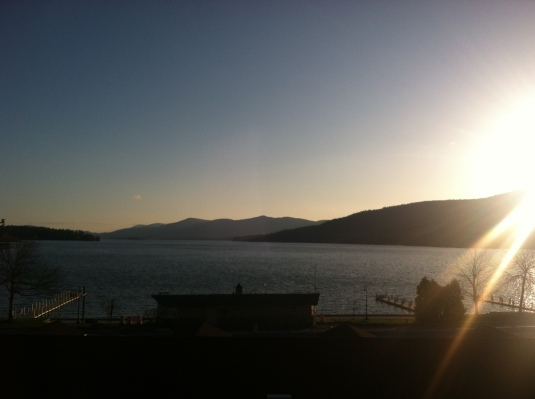 Lake George at dawn