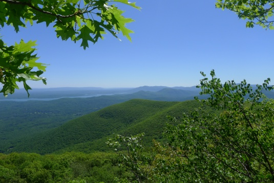 Views from Overlook Mountain, taken last week on a hike