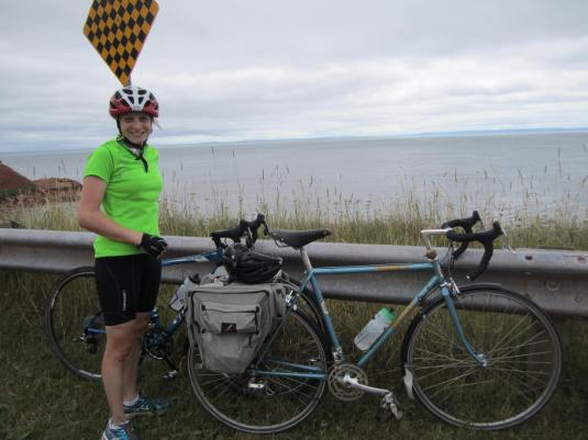 First ride along the coast of PEI, from Wood island