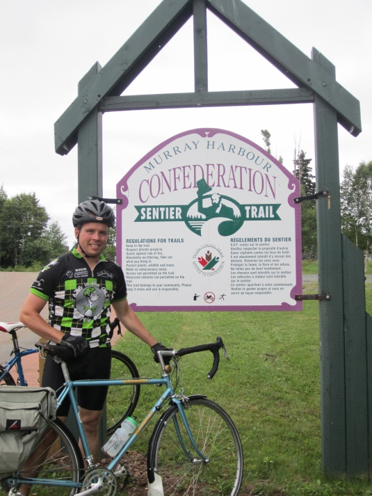 The Confederation Trail!