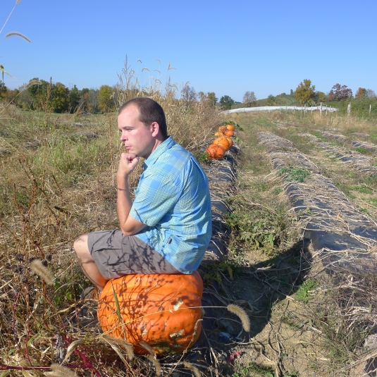 "I would rather sit on a pumpkin, and have it all to myself, than be crowded on a velvet cushion.""-Henry D. Thoreau"