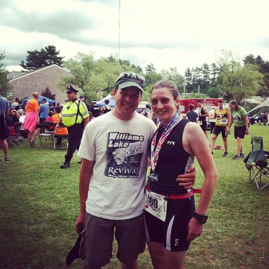 A huge thank you goes to my man for being there at the finish for me, and enduring 6 hrs of waiting and boredom.