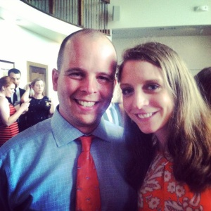 Wedding time! My man and I